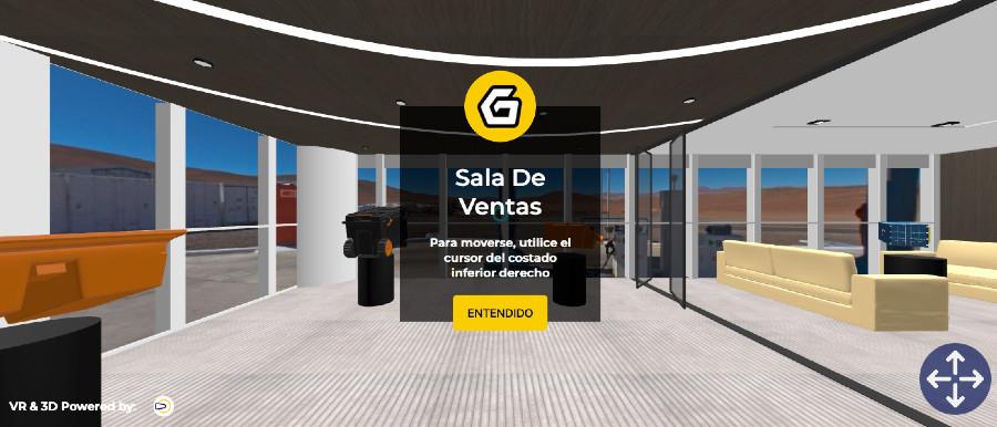 Virtual Reality Showroom