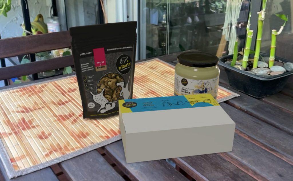 3D Model Food Package