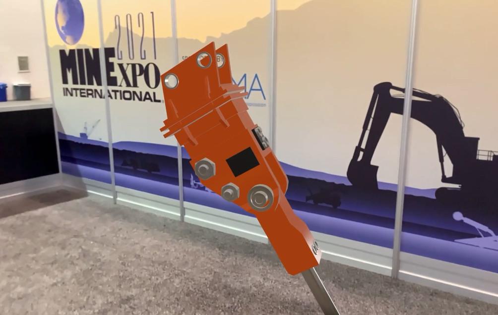 3D model in MINEXPO 2021